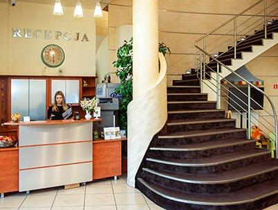 Recepcja w hotelu Jan Sander